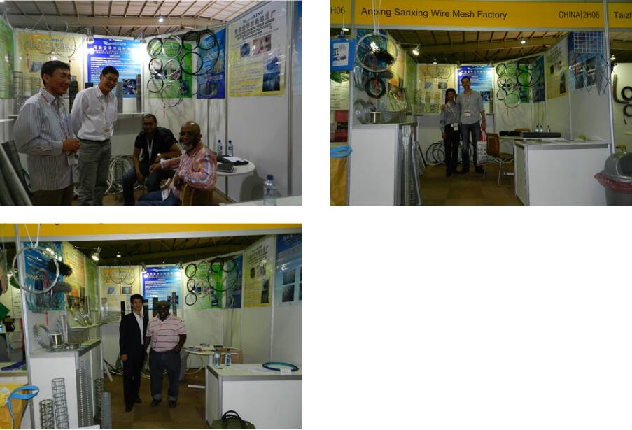 The exhibition in South Africa